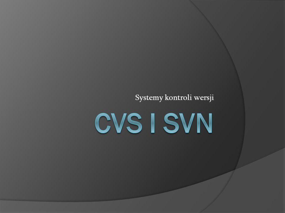Systemy kontroli wersji