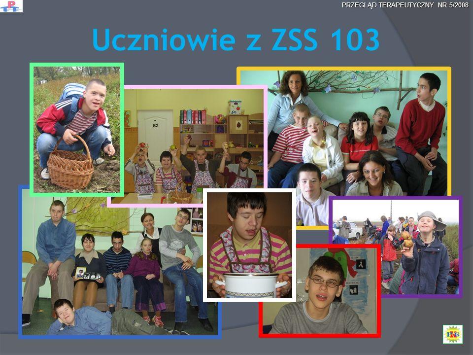 Uczniowie z ZSS 103 PRZEGLĄD TERAPEUTYCZNY NR 5/2008