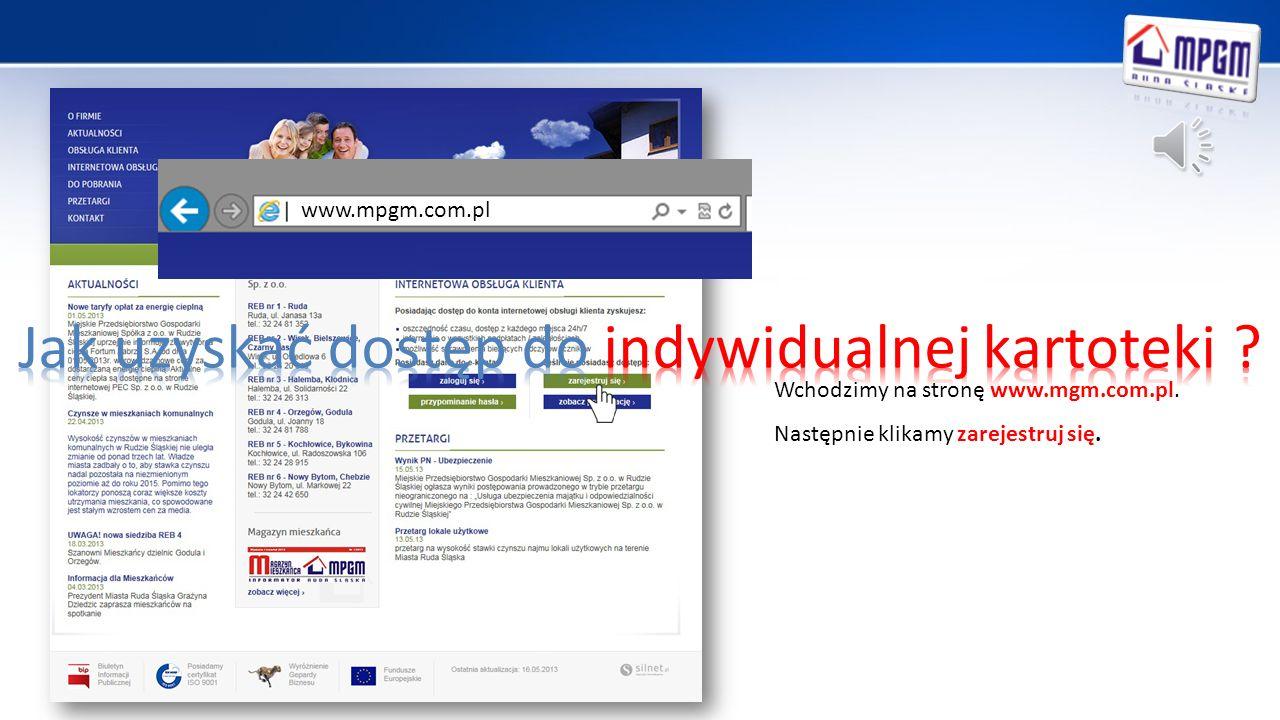 Prostota obsługi, Dostępność – aplikacja jest dostępna dla każdego kto wypełni formularz rejestracyjny dostępny na naszej stronie internetowej www.mpgm.com.pl Niewielkie wymagania sprzętowe – do obsługi aplikacji wystarczy tylko przeglądarka internetowa Bezpieczeństwo – dostęp do aplikacji mają tylko osoby upoważnione (każdy Użytkownik ma stworzony profil opatrzony własnym niepowtarzalnym loginem i hasłem, które po pierwszym logowaniu może samodzielnie zmienić) Wygoda – pozyskanie informacji na temat swojego rozrachunku możliwe jest z dowolnego miejsca i o każdej porze – 24 godziny na dobę.