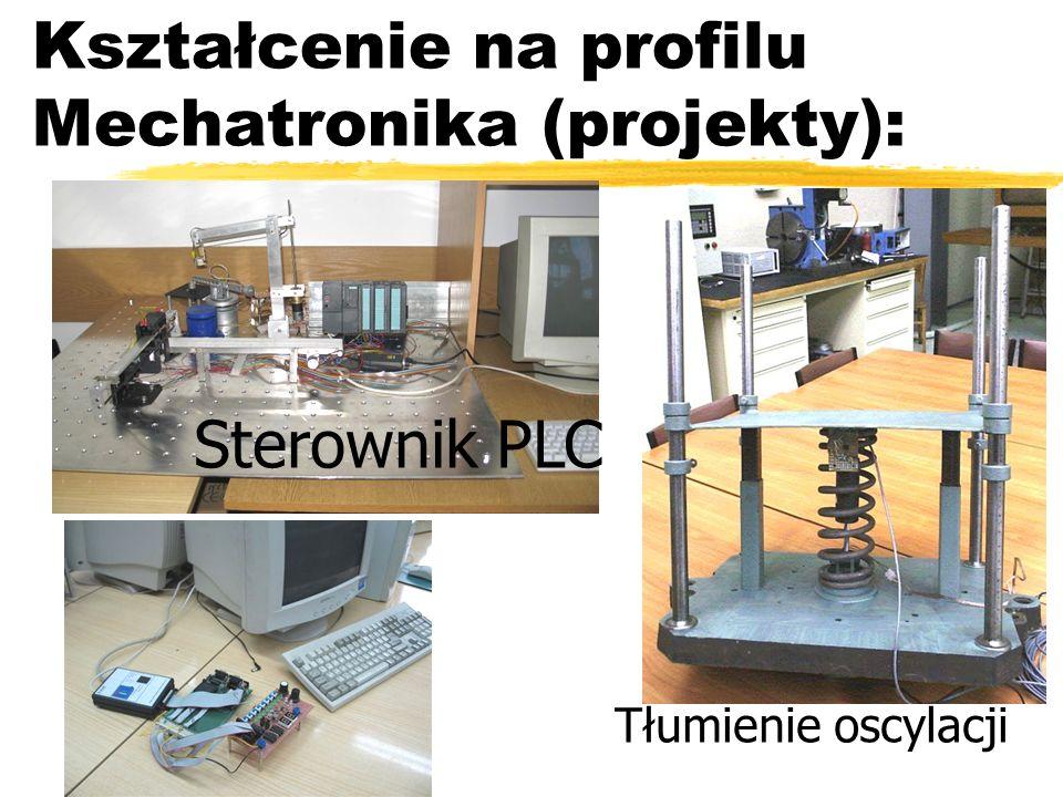 Kształcenie na profilu Mechatronika (projekty): Tłumienie oscylacji Sterownik PLC