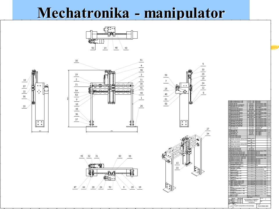 Mechatronika - manipulator