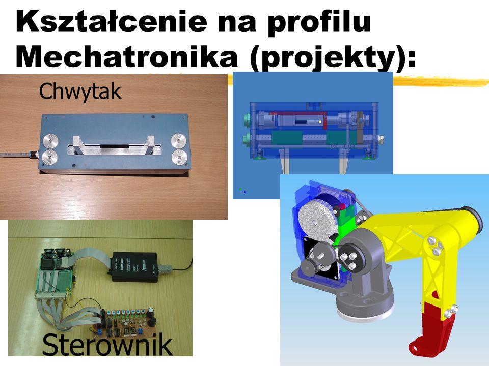 Kształcenie na profilu Mechatronika (projekty): Chwytak Sterownik