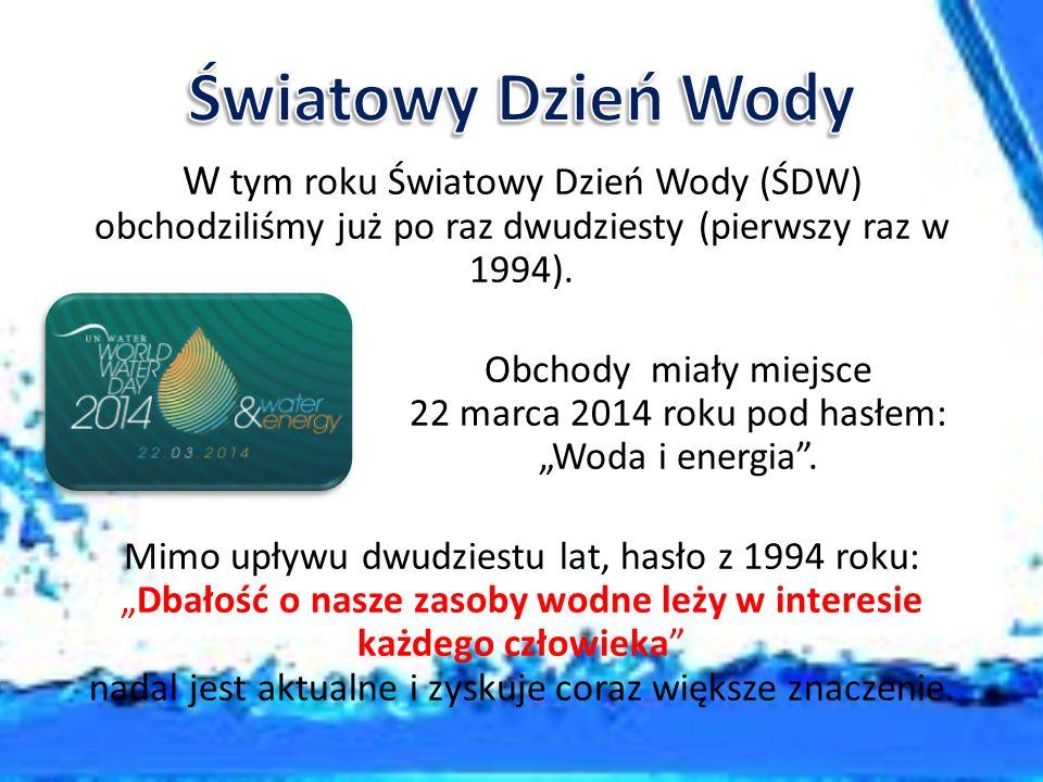 Opracowano na podstawie: Domowy Poradnik Medyczny, PZWL www.medonet.pl www.wikipedia.pl www.swiatowydzienwody.pl www.srodowiskoazdrowie.pl