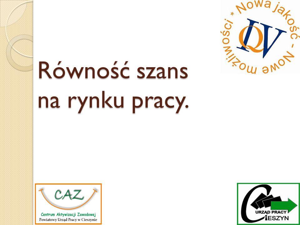 Zasada równości – Konstytucja RP Art.32. 1. Wszyscy są wobec prawa równi.