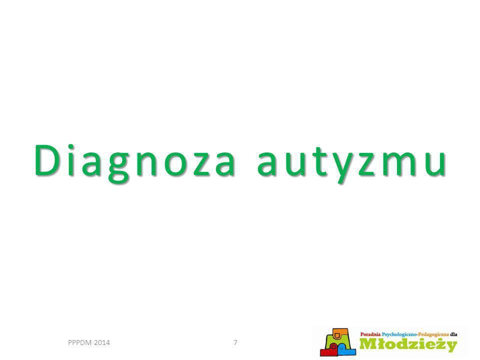 Diagnoza autyzmu PPPDM 20147