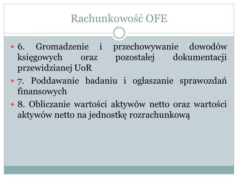 Polityka rachunkowości OFE.