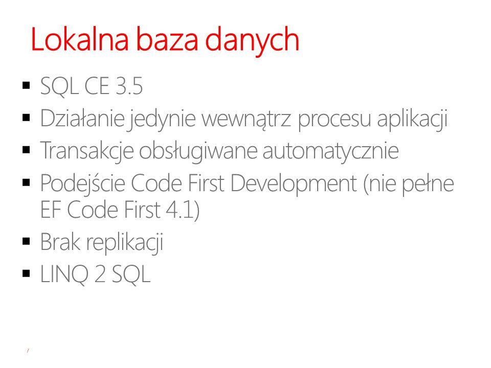 Lokalna baza danych 7