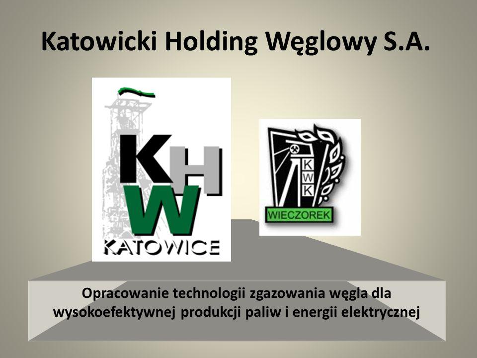 Wycinkowy schemat organizacyjny KHW S.A.