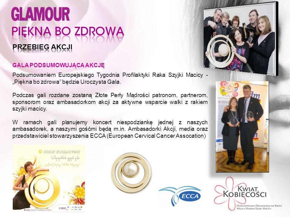 Podsumowaniem Europejskiego Tygodnia Profilaktyki Raka Szyjki Macicy - Piękna bo zdrowa będzie Uroczysta Gala.