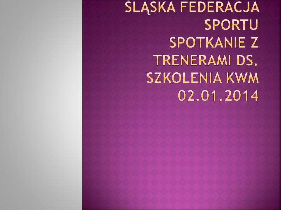 Plan akcji szkoleniowych do 08.01.2014 r.Plan organizacji szkolenia KWM do 08.01.2014.