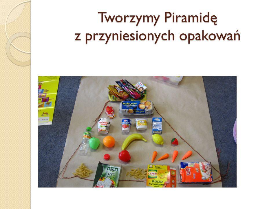 Układamy Piramidę Zdrowia
