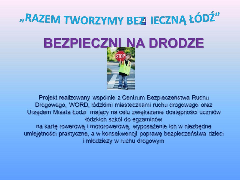 Inne inicjatywy wynikające z przyjętych celów. Bezpieczny Senior - inicjatywa skierowana do najstarszych mieszkańców Łodzi.