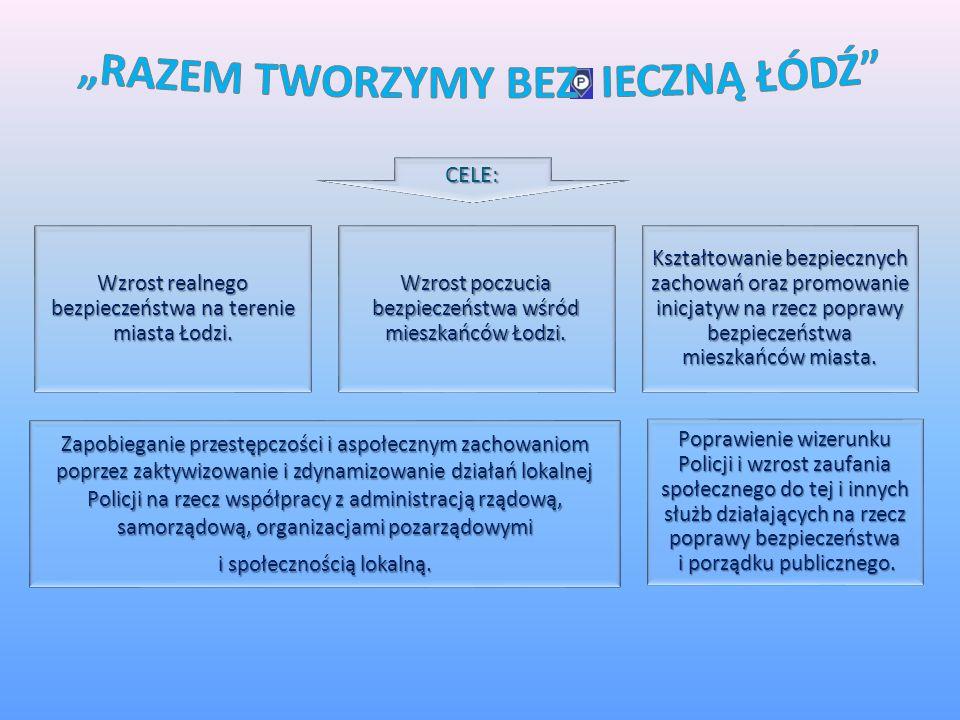 Priorytet: Budowa zintegrowanej wspólnoty społecznej i jej bezpieczeństwa Główny cel: Ograniczenie skali zjawisk i zachowań, które budzą powszechny sp