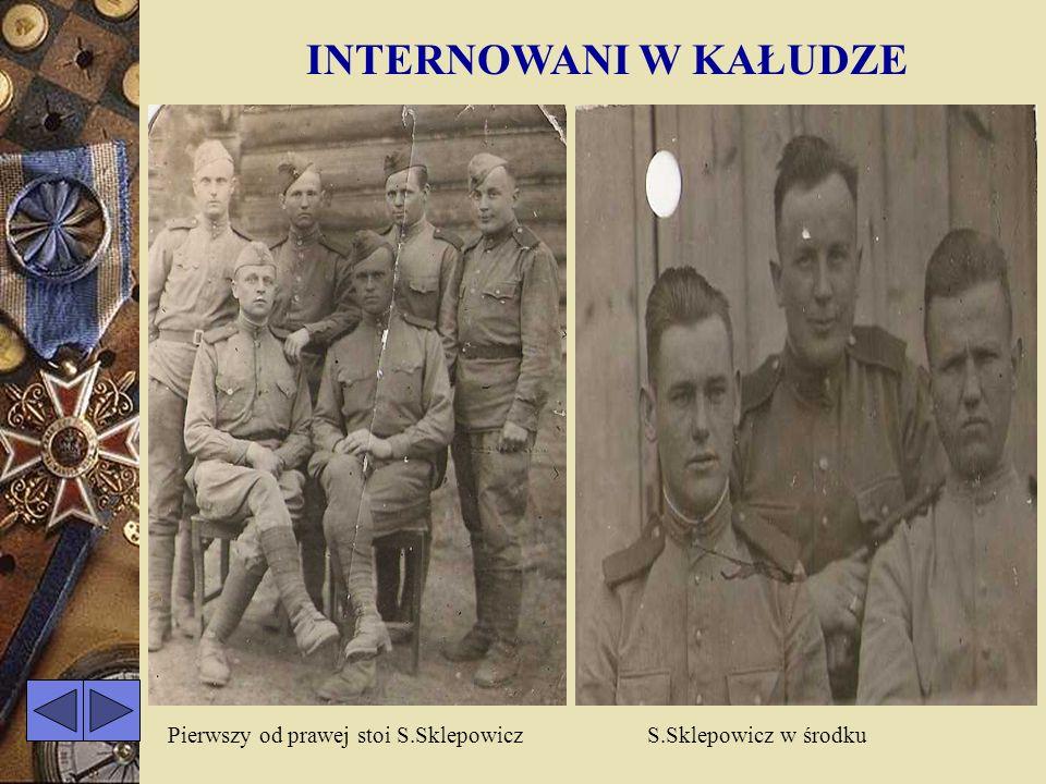 ŻOŁNIERZ STANISŁAW SKLEPOWICZ, podporucznik, ps,, ZIUTEK, ur. 12 VIII 1922r. w Rakliszkach, powiat Oszmiana, woj. Wilno. W 1941r. wstąpił do ZWZ w Goj