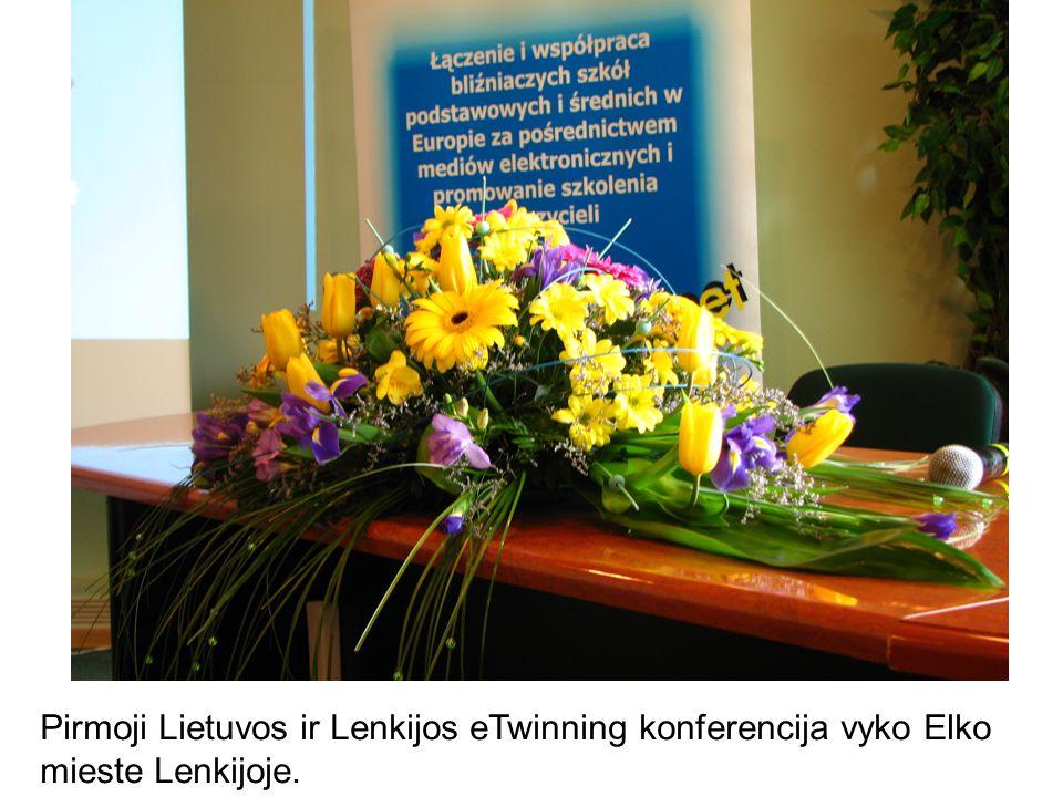 Pirmoji Lietuvos ir Lenkijos eTwinning konferencija vyko Elko mieste Lenkijoje.