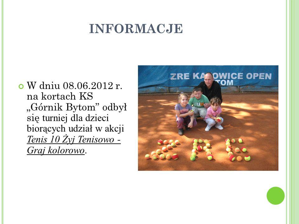 INFORMACJE W dniu 08.06.2012 r.