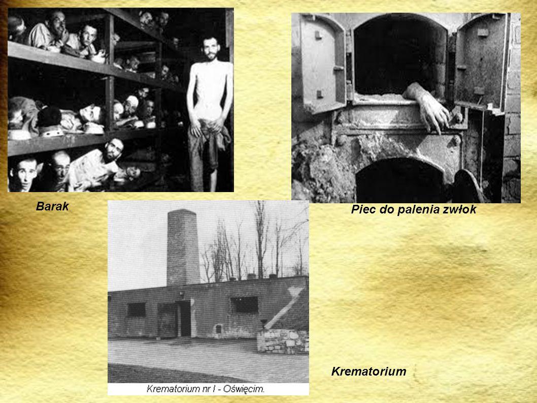 Barak Piec do palenia zwłok Krematorium