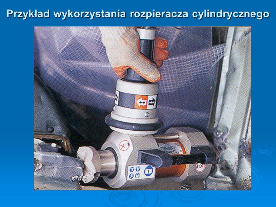 Przykład wykorzystania rozpieracza cylindrycznego