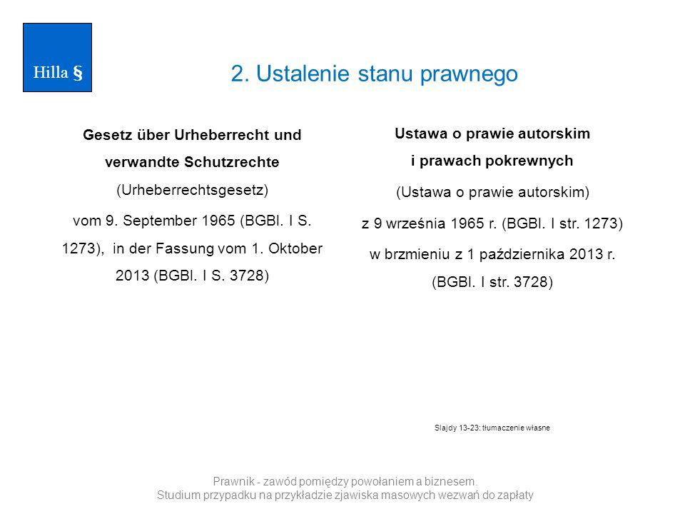 Gesetz über Urheberrecht und verwandte Schutzrechte (Urheberrechtsgesetz) vom 9. September 1965 (BGBl. I S. 1273), in der Fassung vom 1. Oktober 2013