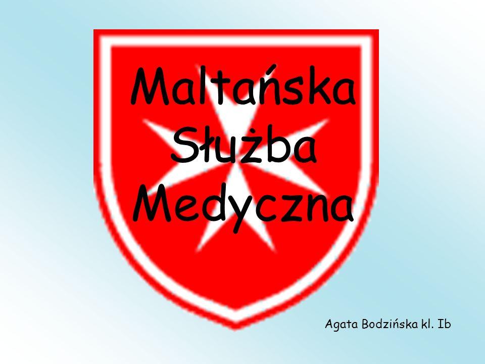 Maltańska Służba Medyczna Agata Bodzińska kl. Ib