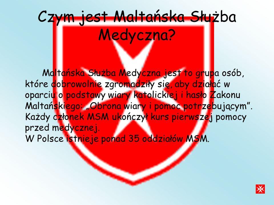 Czym jest Maltańska Służba Medyczna.