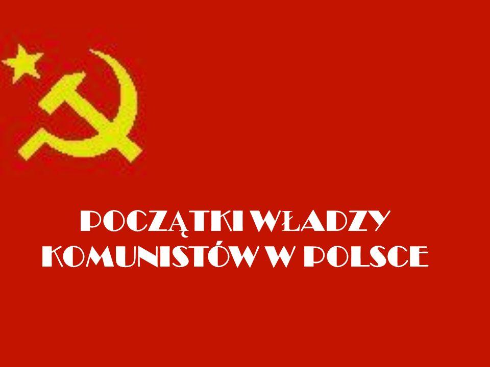 Manifest PKWN Początkiem tworzenia władz komunistycznych na terenie Polski było zainstalowanie Polskiego Komitetu Wyzwolenia Narodowego (PKWN) w Chełmie Lubelskim 28 lipca 1944 roku.