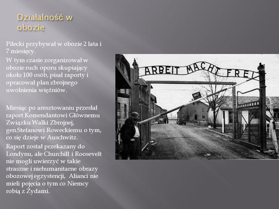Pobyt w Auschwitz- Birkenau Pod nazwiskiem T.Serafińskiego podczas ulicznej łapanki na Żoliborzu 19 września 1940 r. dobrowolnie trafił do niemieckieg