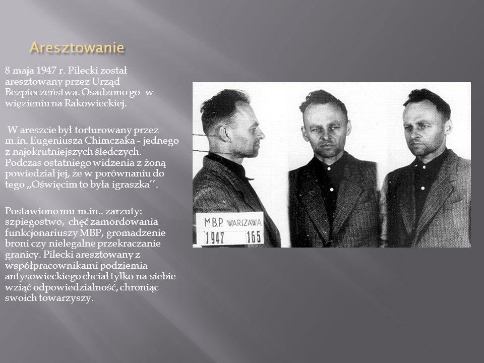 Po wojnie Z zadaniami zorganizowana wywiadu w okupowanej przez Sowietów Polsce wrócił do ojczyzny. Jesienią 1945 r. zorganizował siatkę wywiadowczą i