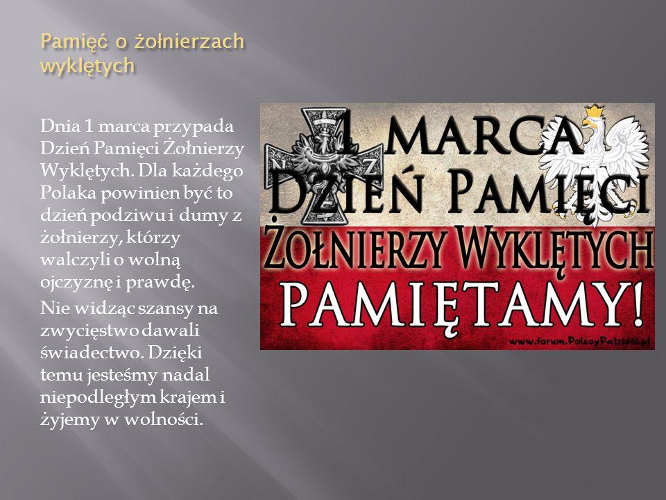 Odznaczenia które Pilecki otrzyma ł po ś miertnie: - Order Orła Białego - Krzyż Komandorski Orderu Odrodzenia Polski - Krzyż Oświęcimski - Warszawski