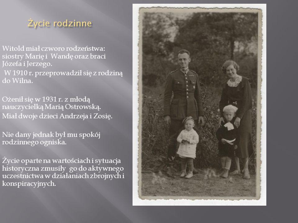 RODZINA ROTMSTRZA Jego rodzicami byli: Julian Pilecki i Ludwika Osiecimska. Pochodził z rodziny szlacheckiej pieczętującej się herbem Leliwa. W domu o