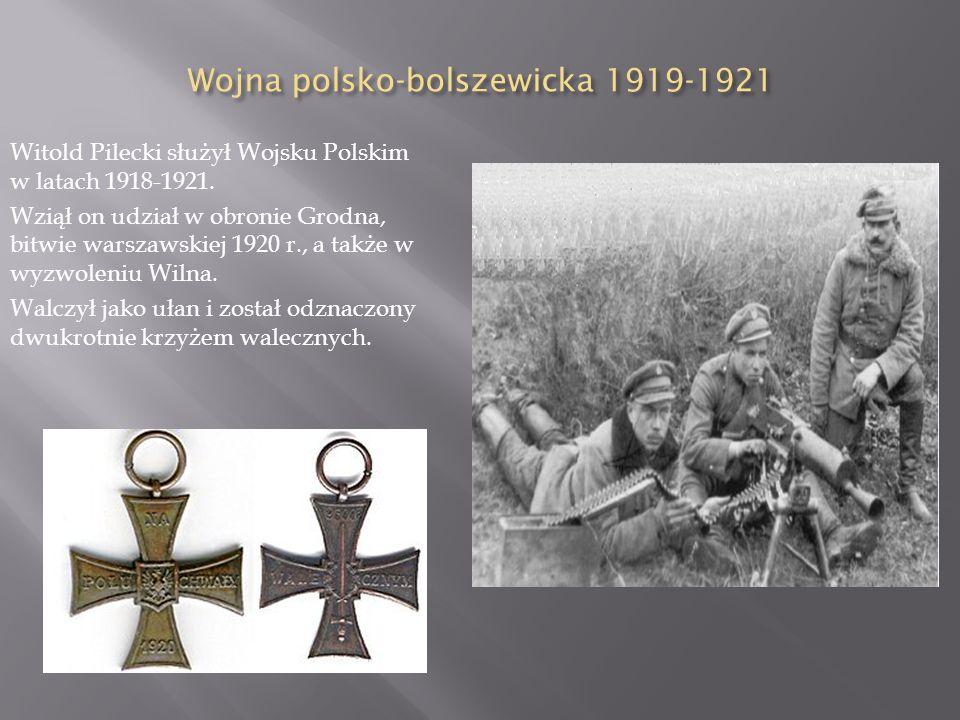 Ż ycie rodzinne Witold miał czworo rodzeństwa: siostry Marię i Wandę oraz braci Józefa i Jerzego. W 1910 r. przeprowadził się z rodziną do Wilna. Ożen
