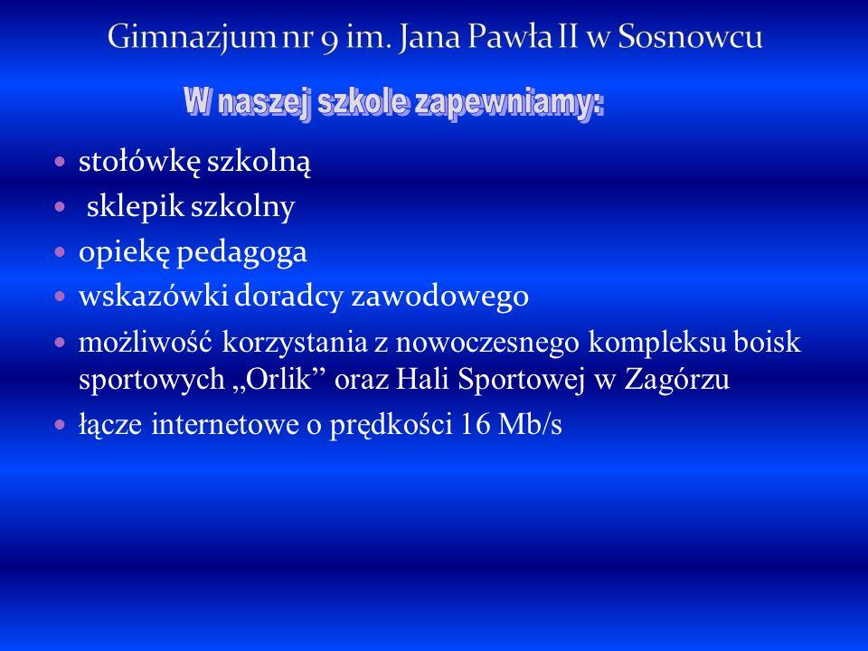 sala informatyczna sala języka polskiego sala geograficzna sala fizyczna