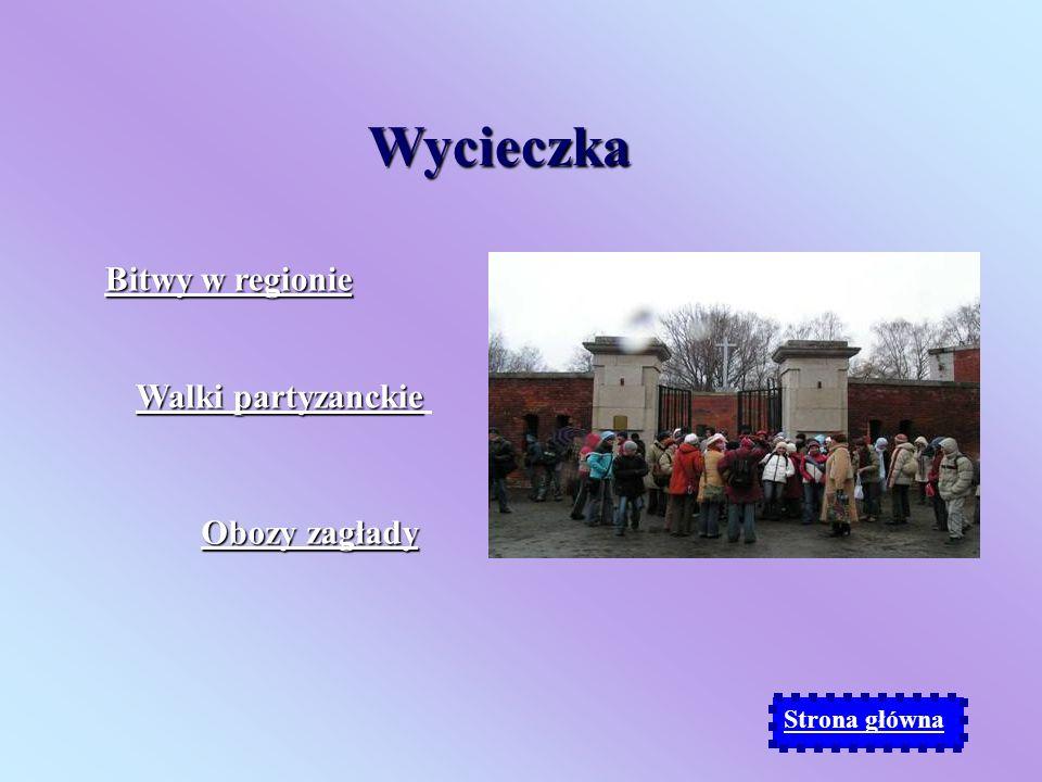 Śladami walki i ludobójstwa na Zamojszczyźnie Wycieczka. Przewodnik historyczny. Przewodnik historyczny. Akademia szkolna. Akademia szkolna.