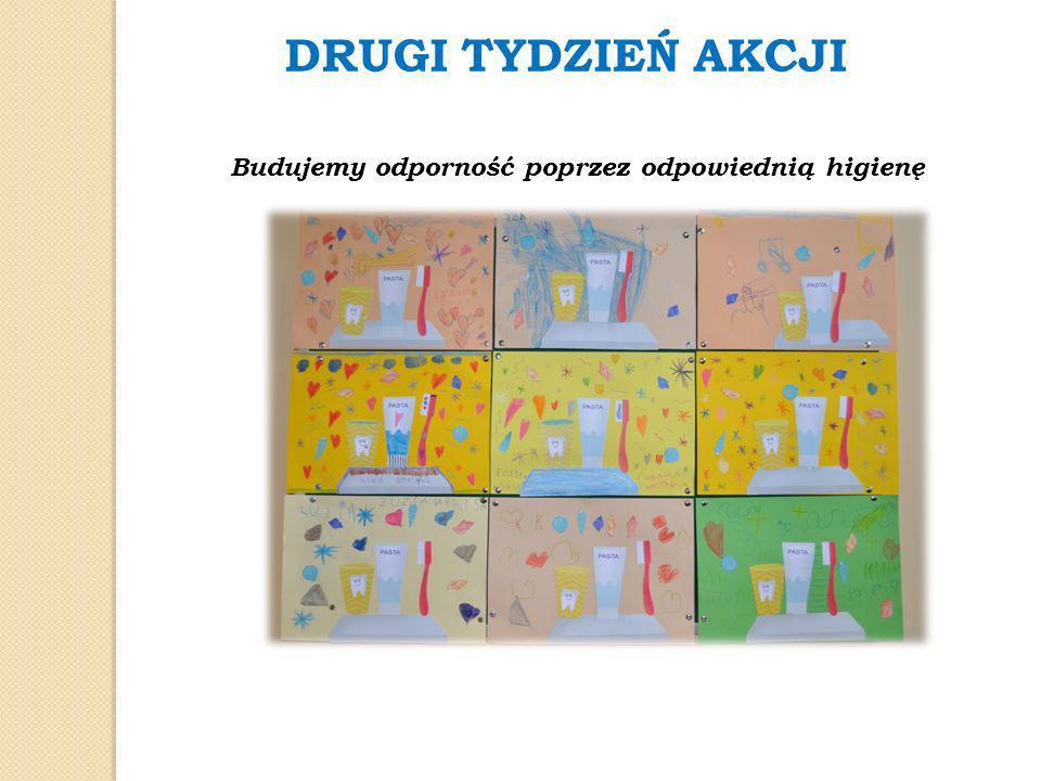 DRUGI TYDZIEŃ AKCJI Budujemy odporność poprzez odpowiednią higienę