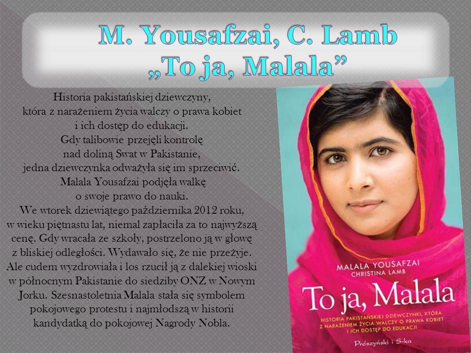 Historia pakista ń skiej dziewczyny, która z nara ż eniem ż ycia walczy o prawa kobiet i ich dost ę p do edukacji. Gdy talibowie przej ę li kontrol ę