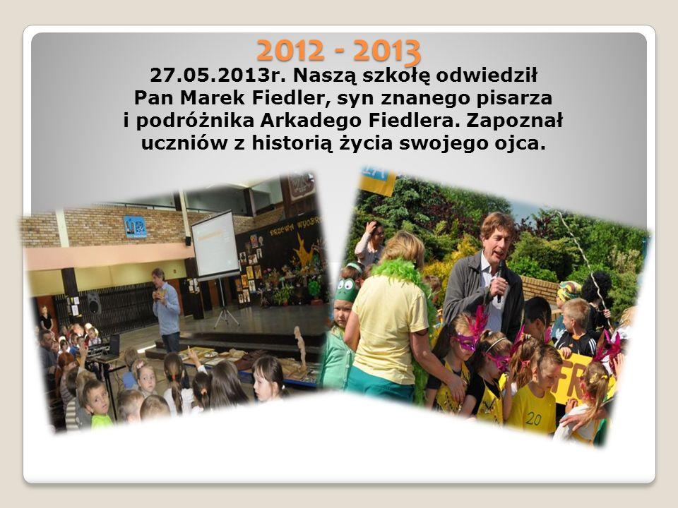 2012 - 2013 27.05.2013r.