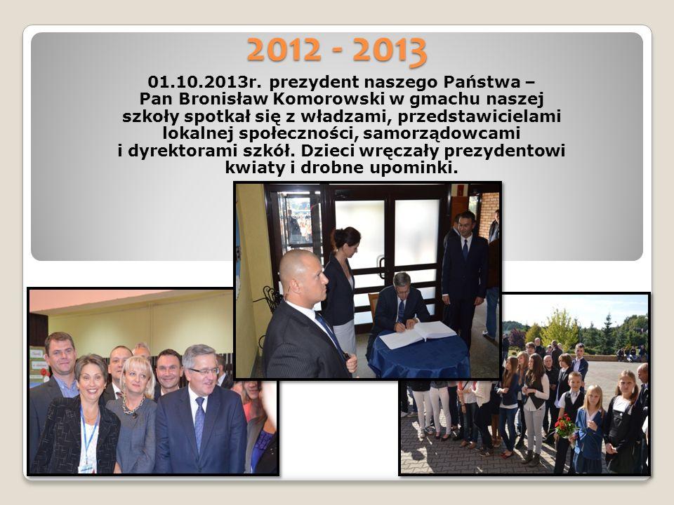 2012 - 2013 01.10.2013r.