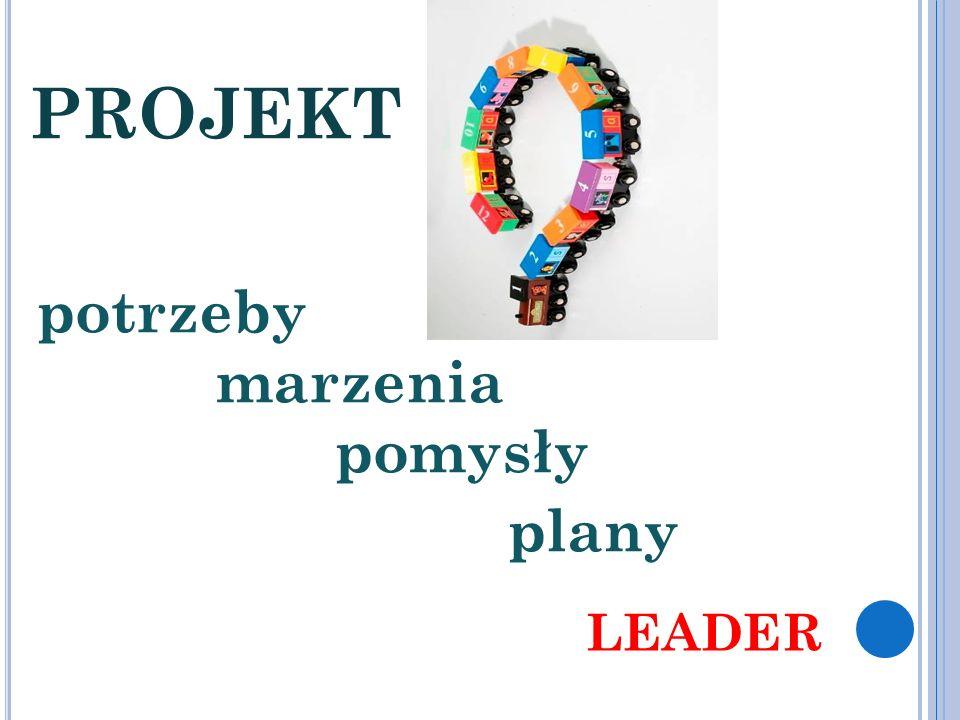 PROJEKT potrzeby marzenia pomysły plany LEADER