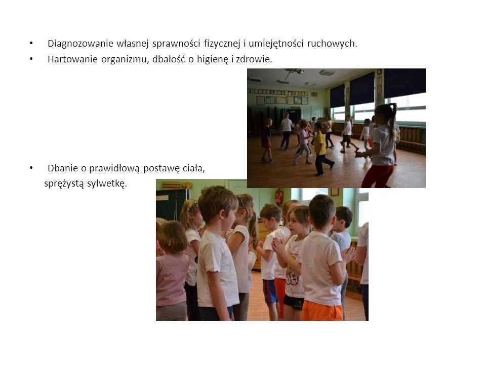Diagnozowanie własnej sprawności fizycznej i umiejętności ruchowych.