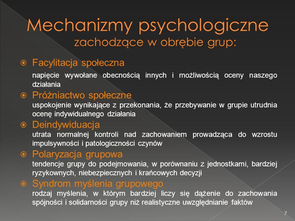 Zadanie addytywne – wszyscy członkowie grupy wykonują ten sam rodzaj pracy.