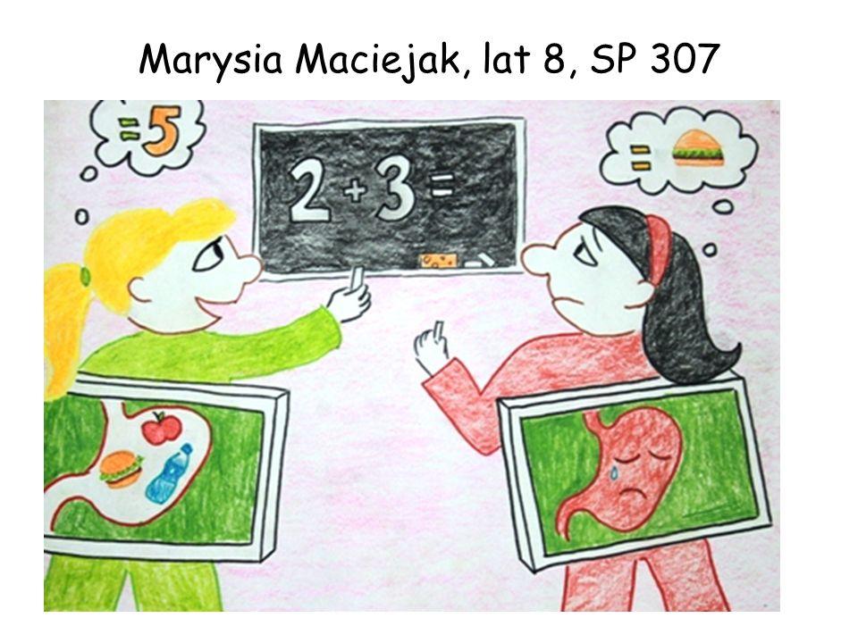 Marysia Maciejak, lat 8, SP 307