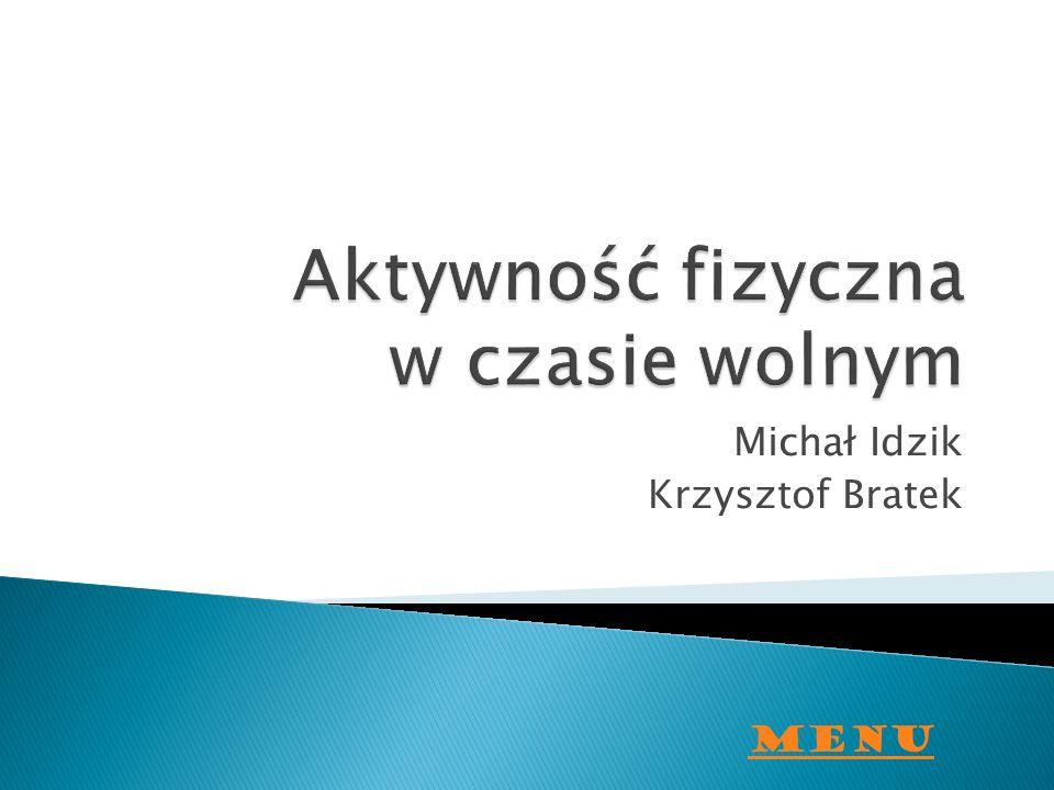 Michał Idzik Krzysztof Bratek Menu