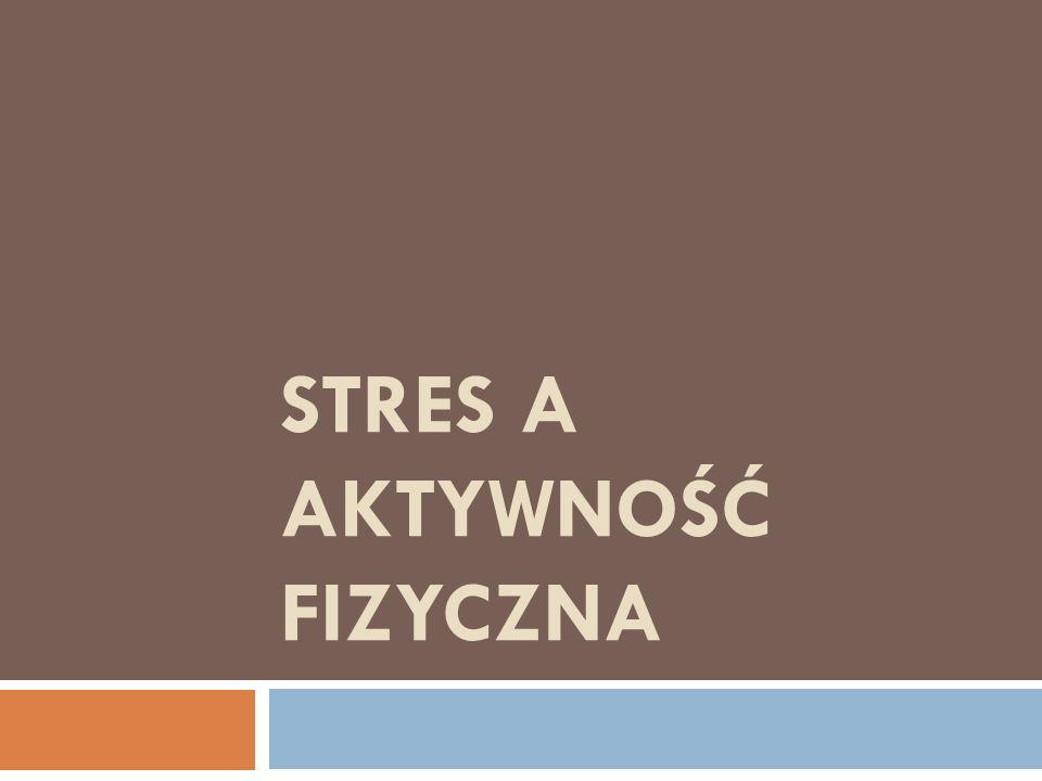 Co to jest stres?