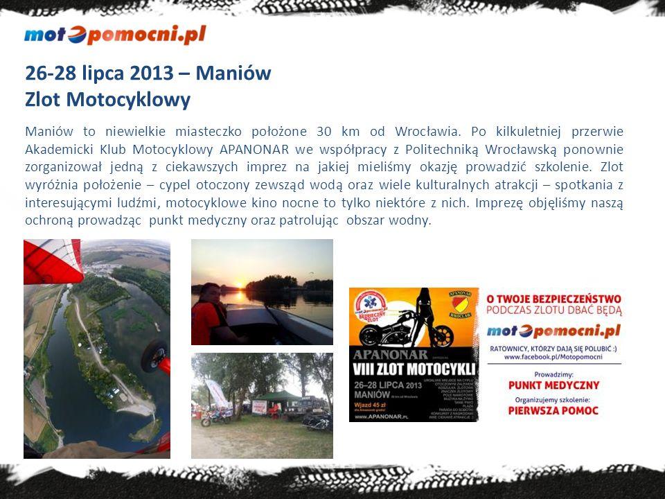 7 września 2013 – Poraj obok Częstochowy Motobud - Branżowy zlot motocyklowy Zamknięta impreza wspierana przez wiele znanych i cenionych firm.