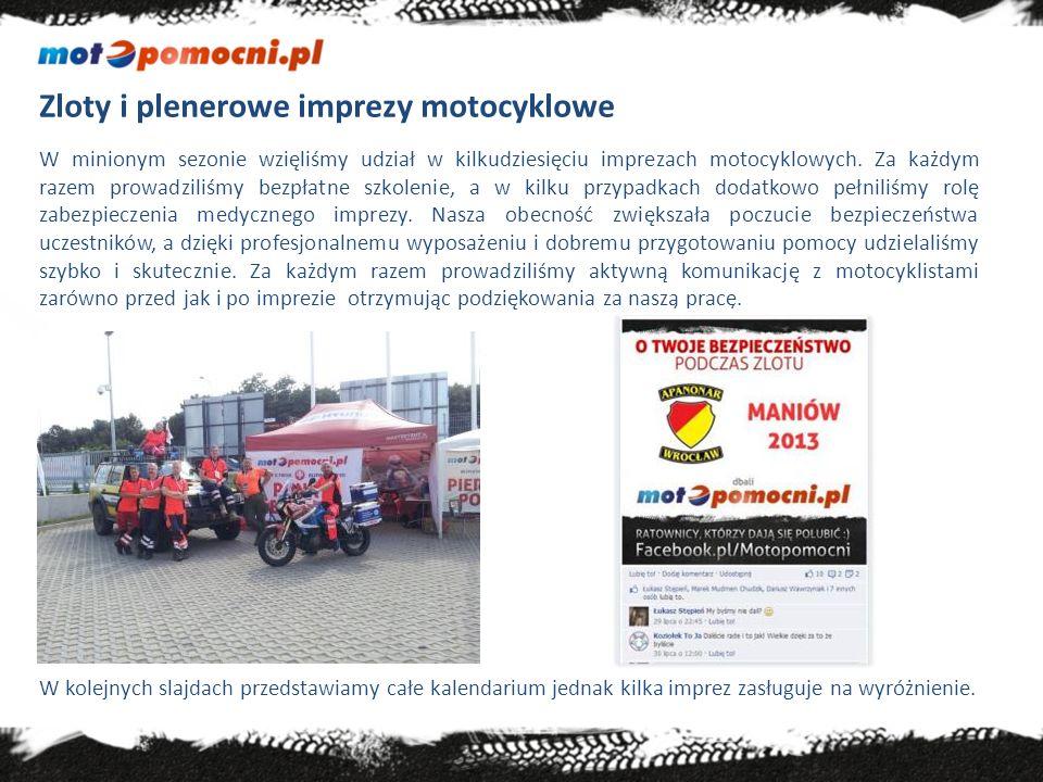 25 maja 2013 – Oborniki Śląskie Rajd Kocich Gór Cykliczna impreza, która co roku przyciąga kilkuset motocyklistów.