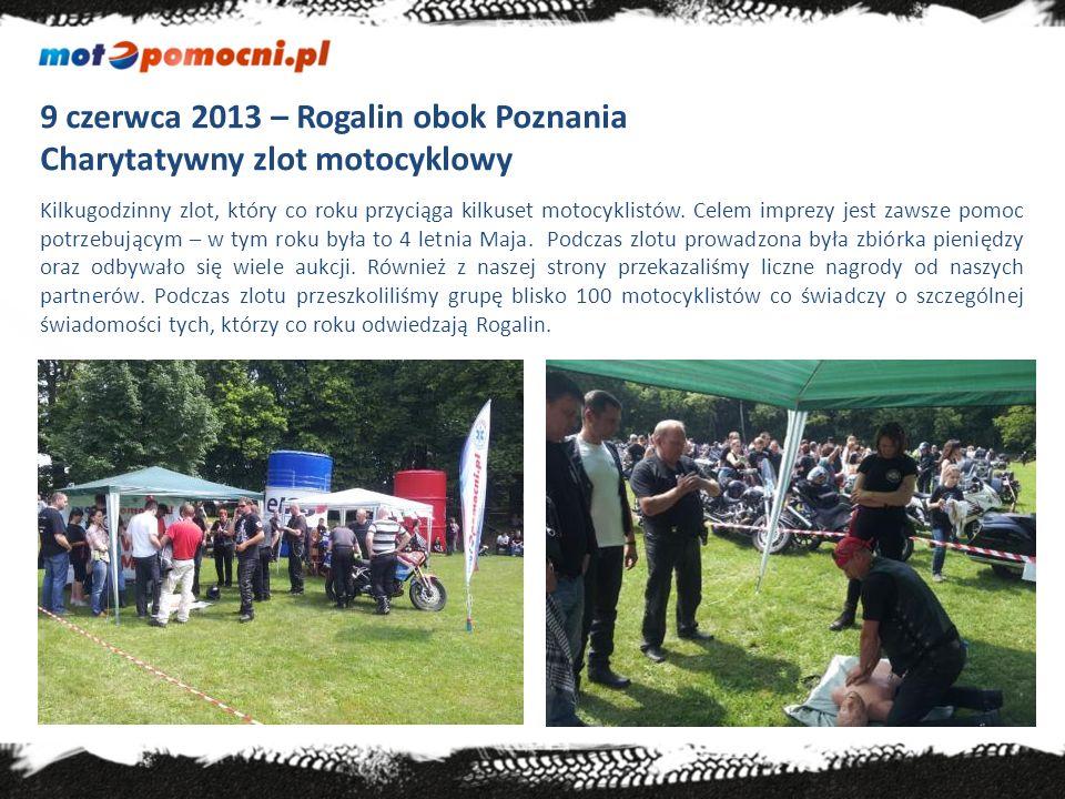 21-23 czerwca 2013 – Srebrna Góra Międzynarodowy Zlot Motocyklowy Niezwykle malownicze miejsce – zlot organizowany na terenie najwyżej położonej twierdzy w Europie.