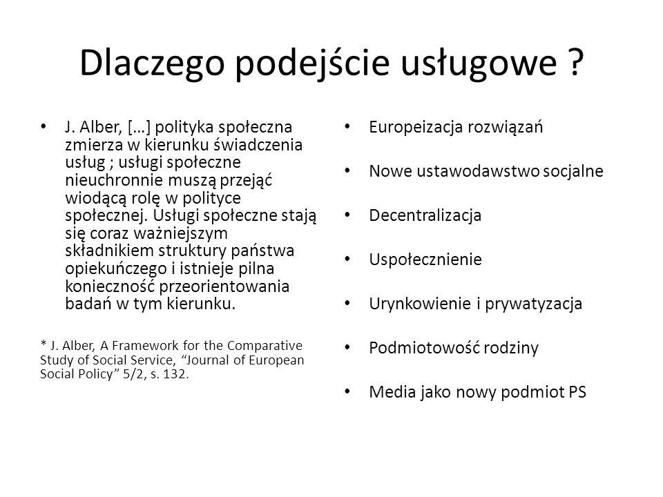 Dwa raporty w projekcie (Grewiński, Geletta 2013) 1.Wpływ na położenie społeczno-ekonomiczne zbiorowości osób niepełnosprawnych w wybranych krajach UE i EOG dostępności i użyteczności usług publicznych w obszarach edukacji, pośrednictwa pracy i doradztwa zawodowego, różnych form opieki zdrowotnej i rehabilitacji 2.Dostępność i użyteczność usług komercyjnych dla osób niepełnosprawnych w Polsce oraz w krajach UE i EFTA