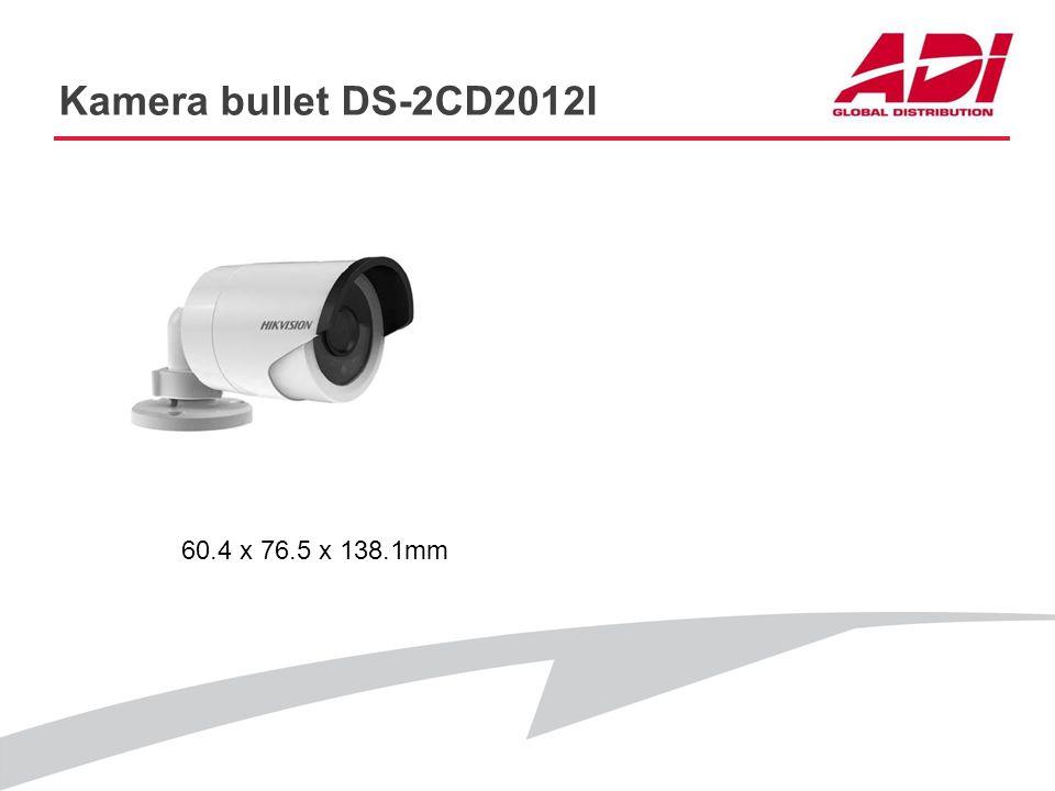 Kamera bullet DS-2CD2012I PODSTAWOWE CECHY Rozdzielczość: 1280 x 960@25kl./s Obiektyw: 4 lub 6mm Dwa strumienie: Tak D-WDR, 3D DNR Filtr IR: Tak Zasię