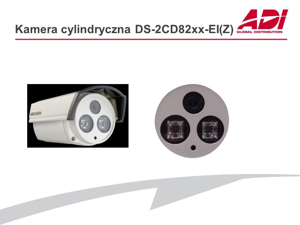 Kamera cylindryczna DS-2CD82xx-EI(Z) PODSTAWOWE CECHY Modele: DS-2CD8264FWD-EI(Z) (1280*960@25kl./s, WDR) DS-2CD8255F-EI(Z) (1080p@25kl./s, 3D DNR) DS