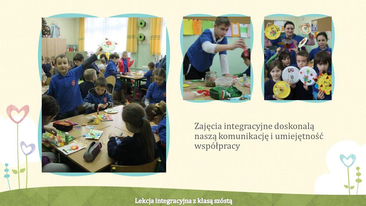 Zajęcia integracyjne doskonalą naszą komunikację i umiejętność współpracy